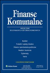 finanse komunalne