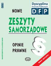 Nowe Zeszyty Samorządowe - Opinie Prawne poświęcona tematyce dyscypliny finansów publicznych