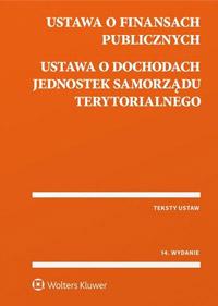 Ustawa o finansach publicznych. Ustawa o dochodach jednostek samorządu terytorialnego. Przepisy